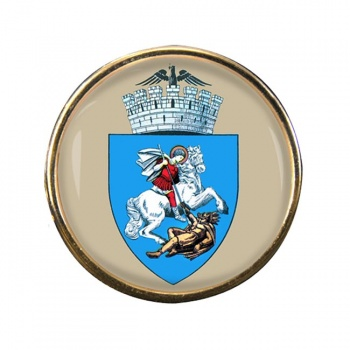 Craiova (Romania) Round Pin Badge