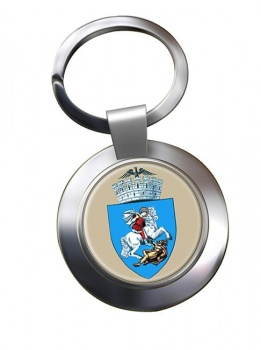 Craiova (Romania) Metal Key Ring