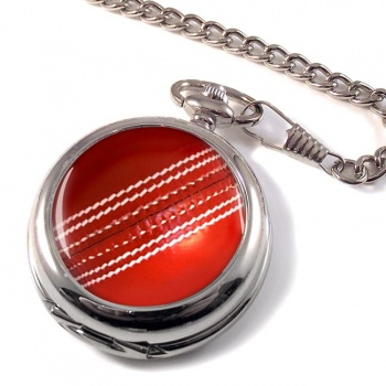 Cricket Ball Pocket Watch