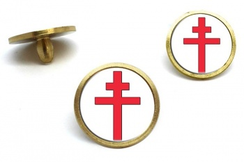 Cross of Lorraine Golf Ball Markers