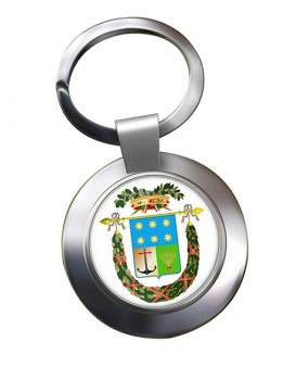 Crotone (Italy) Metal Key Ring
