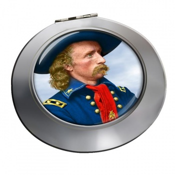 General Custer Chrome Mirror