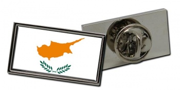 Cyprus  Flag Pin Badge