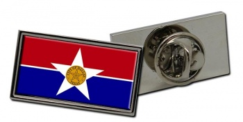 Dallas TX  Flag Pin Badge