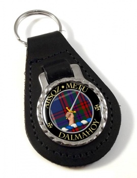 Dalmahoy Scottish Clan Leather Key Fob