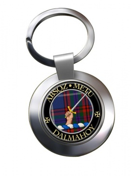 Dalmahoy Scottish Clan Chrome Key Ring