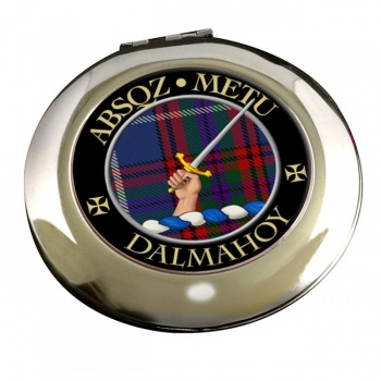 Dalmahoy Scottish Clan Chrome Mirror