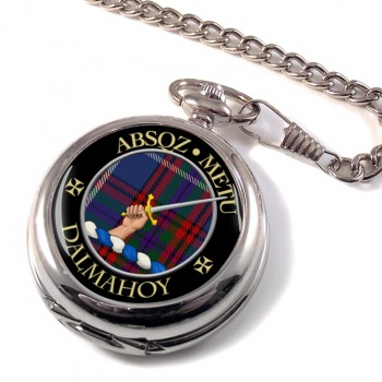 Dalmahoy Scottish Clan Pocket Watch