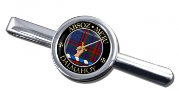 Dalmahoy Scottish Clan Round Tie Clip