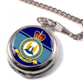 RAF Station Danesfield Pocket Watch