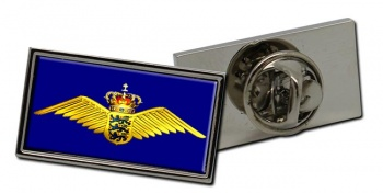 Royal Danish Air Force (Kongelige Danske Flyvevåbnet) Rectangle Pin Badge