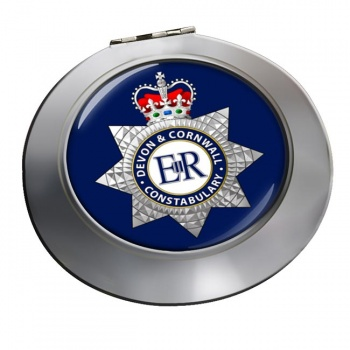 Devon & Cornwall Constabulary Chrome Mirror