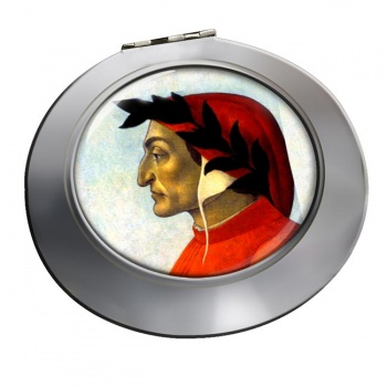 Dante Alighieri Chrome Mirror