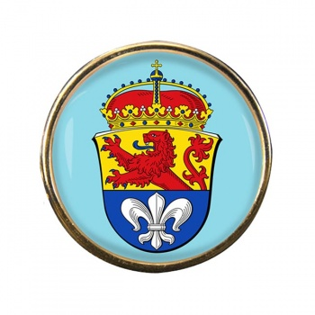 Darmstadt (Germany) Round Pin Badge