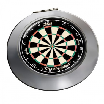 Dartboard Chrome Mirror