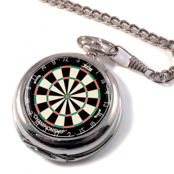 Dartboard Pocket Watch