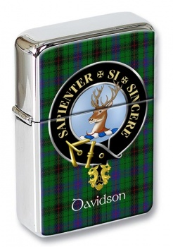 Davidson Scottish Clan Flip Top Lighter