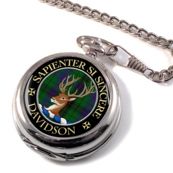 Davidson Scottish Clan Pocket Watch