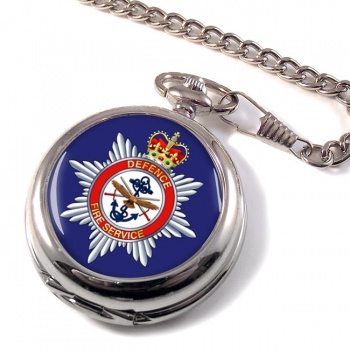 Defence Fire Service Pocket Watch