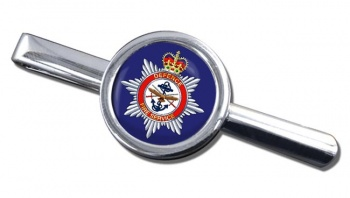 Defence Fire Service Round Tie Clip