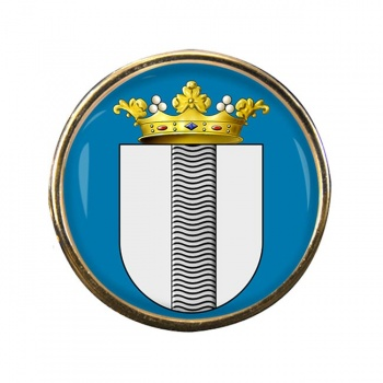 Delft (Netherlands) Round Pin Badge