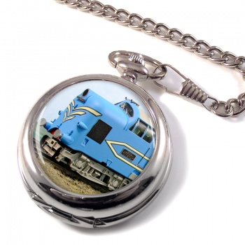 Deltic Locomotive Pocket Watch
