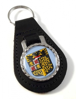 s-Hertogenbosch Den Bosch (Netherlands) Leather Key Fob