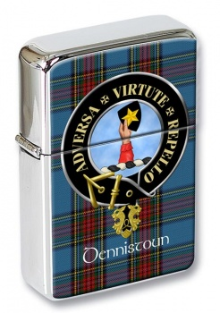 Dennistoun Scottish Clan Flip Top Lighter