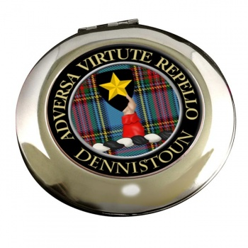 Dennistoun Scottish Clan Chrome Mirror