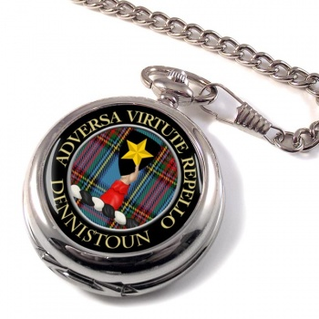 Dennistoun Scottish Clan Pocket Watch