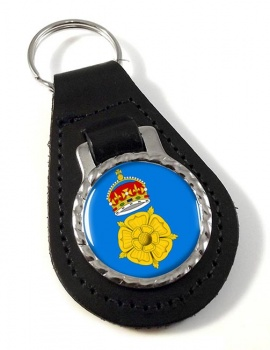 Derbyshire County Leather Key Fob