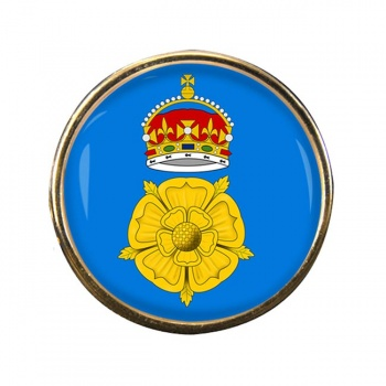 Derbyshire County Round Pin Badge