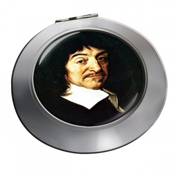 Rene� Descartes Chrome Mirror