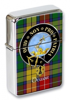 Dewar Scottish Clan Flip Top Lighter