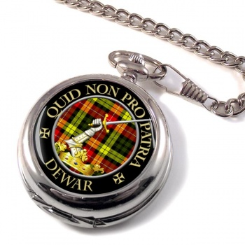 Dewar Scottish Clan Pocket Watch