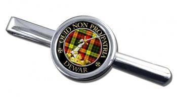 Dewar Scottish Clan Round Tie Clip