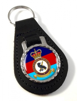 Defence Electronic Warfare Centre Leather Key Fob