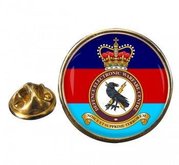 Defence Electronic Warfare Centre Round Pin Badge
