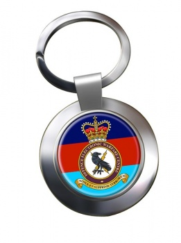 Defence Electronic Warfare Centre Chrome Key Ring