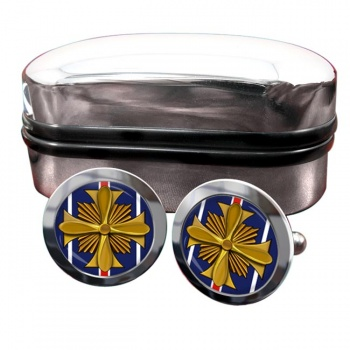 Distinguished Flying Cross (United States) Round Cufflinks