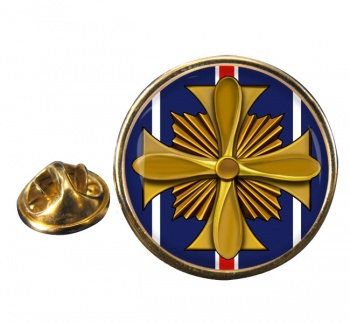 Distinguished Flying Cross (United States) Round Pin Badge