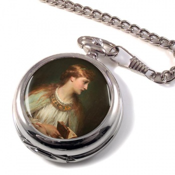 Ophelia by Thomas Francis Dicksee Pocket Watch