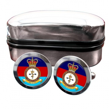 Defence Medical Rehabilitation Centre Round Cufflinks