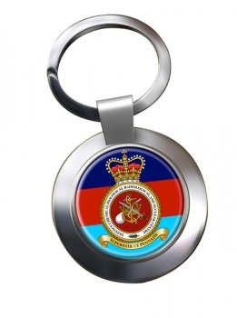 Defence Chemical biological radiological and Nuclear Centre Chrome Key Ring