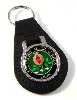 Don Scottish Clan Leather Key Fob