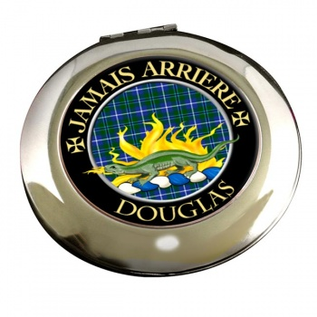 Douglas Scottish Clan Chrome Mirror
