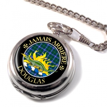 Douglas Scottish Clan Pocket Watch