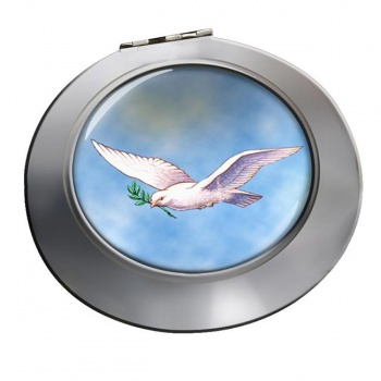 Dove of the Ark Chrome Mirror