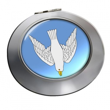 Dove Descending Chrome Mirror
