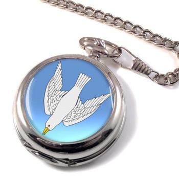 Dove Descending Pocket Watch